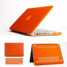 "Multi Color Rugged Rubberized Keyboard Case Cover for Macbook Pro 15.4"" Retina"