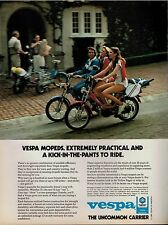 1981  VESPA Mopeds  Scooter   Magazine Print AD