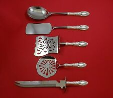 KING RICHARD BY TOWLE STERLING SILVER BRUNCH SERVING SET 5-PC SET HHWS CUSTOM