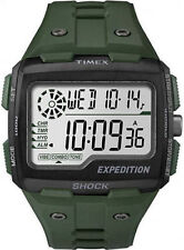 Timex TW4B02600, Expedition Grid Shock Chronograph Watch, Indiglo, TW4B026009J