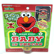 Sesame Street Baby in Car Safety Swing Sign - 0150