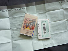 CROWDED HOUSE DON'T DREAM IT'S OVER ULTRA RARE JAPANESE CASSETTE TAPE!