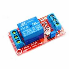 24V 1 Channel Relay Module With OPTO-Isolated Support High and Low Level Trigger