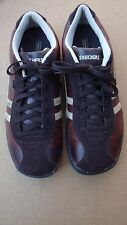 Skechers Women's Brown Leather Oxford Sneakers Shoes SN 45410 Size 10 US