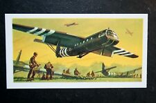 Horsa Military Glider       Illustrated  Card  VGC