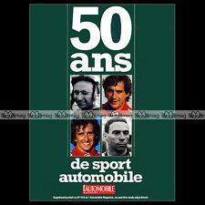 L'AUTOMOBILE N°618-BIS ★ 50 ANS SPORT AUTO ★ FANGIO AYRTON SENNA PROST LE MANS