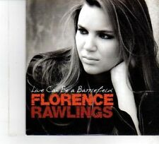 (DW525) Florence Rawlings, Love Can Be A Battlefield - 2009 DJ CD
