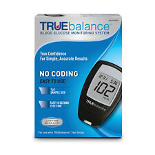 Truebalance Blood Glucose Monitoring System Complete kit Include 10 Test Strips