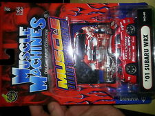 Muscle Machines Red Subaru WRX, Die-cast, detailed rims (Rare 2003 Release)