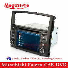 "7"" Car DVD GPS Nav Stereo Radio Player For Mitsubishi Pajero 2006-2015"
