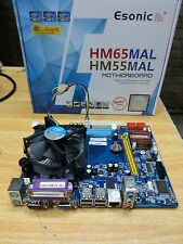 intel chipset H55 MotherBoard + intel i5 processor + 4GB DDR3 RAM With Cpu Fan