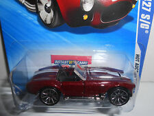 Hot Wheels 2010 Hot Auction Shelby Cobra 427 S/C #165 Burgandy