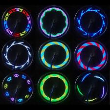 Cool 14 LED 30 Modificaciones Bicicleta / / Lámpara de señal radios rueda