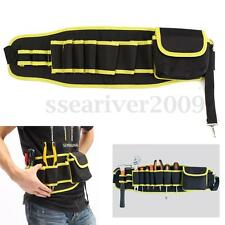 Utility Pocket Pouch Bag Belt Hardware Mechanic's Electrician Canvas Tool Bag