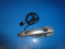 PORSCHE CAYENNE 955 S TURBO FRONT RIGHT EXTERIOR DOOR HANDLE ASSEMBLY GREY OEM