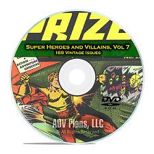 Super Hero, Villains, Vol 7, Prize,Target Comics , PDF Classic Comics DVD D72