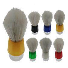 Bristles Shave Shaving Razor Brush Plastic Handle Mustache Brushes For Men