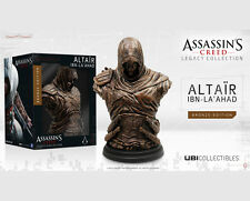 Colección Legado Altaïr Ibn-la'ahad Bronce Busto Estatua Estatuilla Assassins Creed