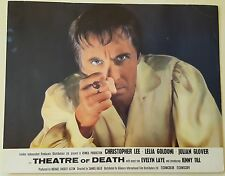 Original Lobby Card,THEATRE OF DEATH,CHRISTOPHER LEE LEILA GOLDONI