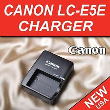 Brand New LC-E5E LC-E5 Charger for Canon LP-E5e Battery Rebel 1000D Kiss X2 X3 F