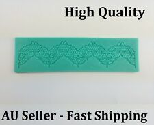 Silicone Lace Shaped Mold Mould Mat sugarveil Sugarcraft Cake Decorating Tool