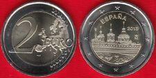 "Spain 2 euro 2013 ""Escorial Madrid"" BiMetallic UNC"