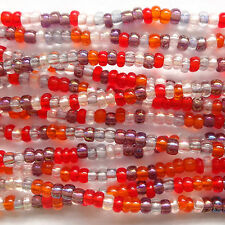 18g Checa Seed Beads Mini hank11/0-melonberry-Zs10