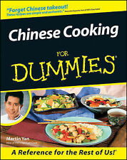 Chinese Cooking for Dummies by Martin Yan (Paperback, 2000)