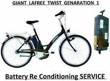 Giant Lafree Twist Battery RECONDITIONING to 24v 11ah