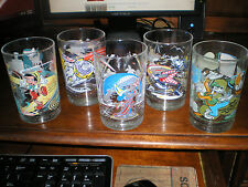 Lot of 5 Vintage McDonalds Disney 100 Years of Magic Drinking Glasses