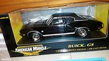 *RARE* Ertl/GS Club 1/18 1970 Buick GS 455 - Regal Black *1/803*