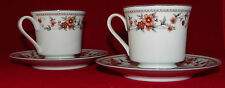 Vintage Sheffield Fine China Tea Coffee Cups & Saucers Plates Anniversary Set