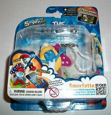 The Smurfs Swaps SMURFETTE Figure Clip-For iOS & Android Smurf World Game App