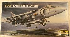 "U.K. Hawker Harrier II, AV-8B ""Jump Jet"" 1/72 Airplane Model Kit"
