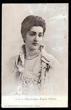 1902 Elena Regina of Montenegro Queen Italy royalty postcard
