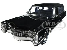 1966 CADILLAC S&S LIMOUSINE BLACK PRECISION COLLECTION 1/18 BY GREENLIGHT 18002