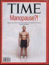 Time Magazine - August 18th 2014 - Manopause