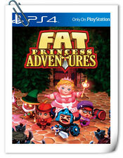 PS4 Fat Princess 胖公主歷險記 中文版 SONY PlayStation Adventures Action Games SCE