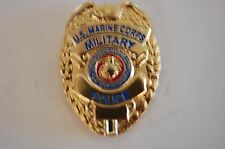 US USA USMC Marine Corps Military Police MP Hat Lapel Pin