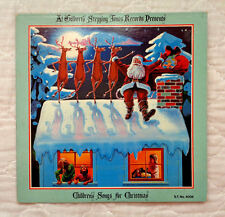 Al Gilbert's Stepping Tones Records Presents Children's Songs For Christmas lp!