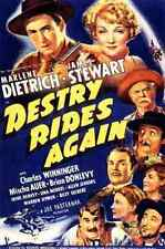 Film Destry Rides Again 01 A3 Box Canvas Print
