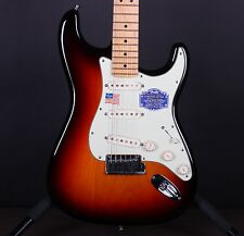 Fender American Deluxe Stratocaster Sunburst Electric Guitar w/Case #5063