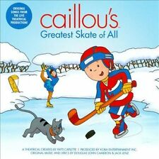 Caillou's Greatest Skate of All CAILLOU MUSIC CD