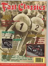 FAST CLASSICS MAGAZINE 1ST EDITION - JUNE 1994 - HARLEY XLCR