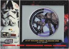 STAR WARS GALACTIC FILES PR-11 EMBROIDERED PATCH AT-AT WALKER CREW AT-AT DRIVER