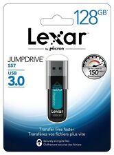 Lexar 128GB JumpDrive S57 USB 3.0 Flash Drive, Speed Up to 150MB/s (LJDS57-128AB