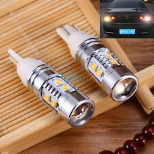 2X T10 50W 921 W5W Car Truck Brake Reverse Back up LED Light Projector Lens Bulb