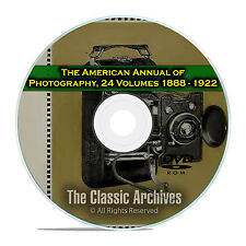 The American Annual of Photography, Camera Photo Developing History, PDF DVD E67