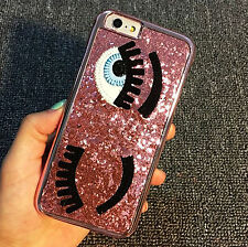 Flirty Wink Eyes Bling Case For iPhone 7/7Plus 6/6s/6+/6s+ Christmas Party Gift