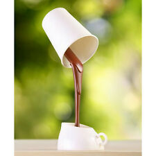 DIY LED Night Lamp Table Coffee light Or Battery For Christmas Gifts White USB